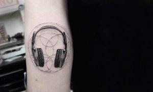 Tatuajes de auriculares