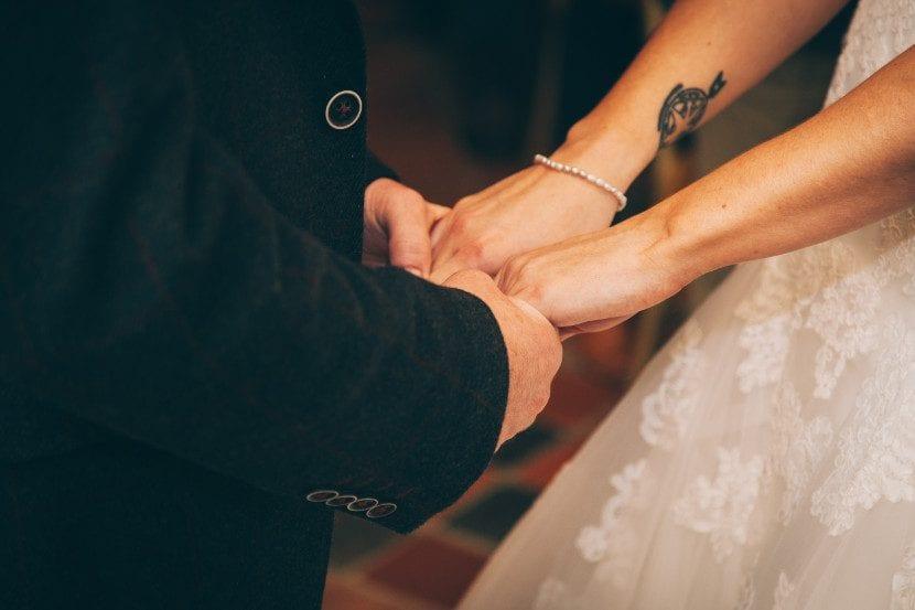 Tatuajes de boda brazo
