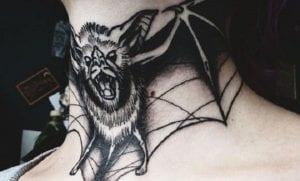 Tatuajes de murciélagos