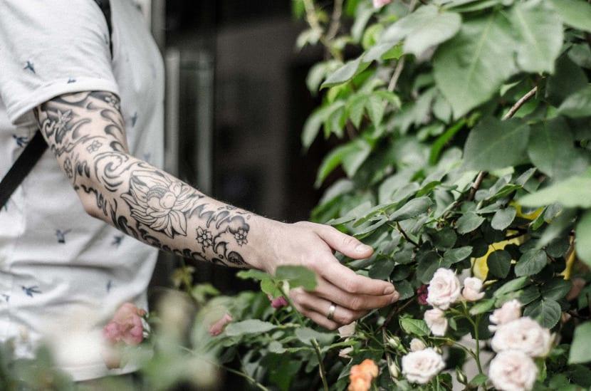 Tatuaje de peonias