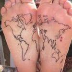 Tatuajes en la planta del pie