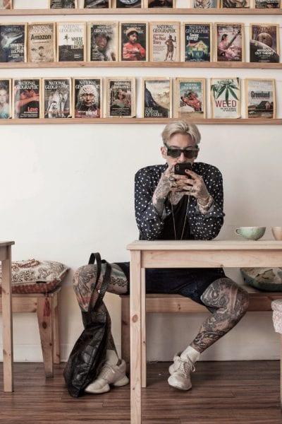 Tatuajes populares mesa