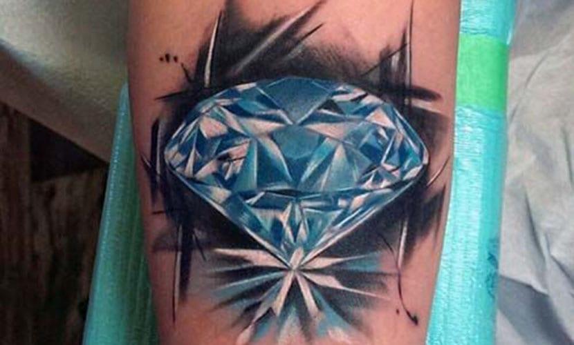 Tatuajes de diamantes