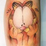 Tatuajes de Garfield
