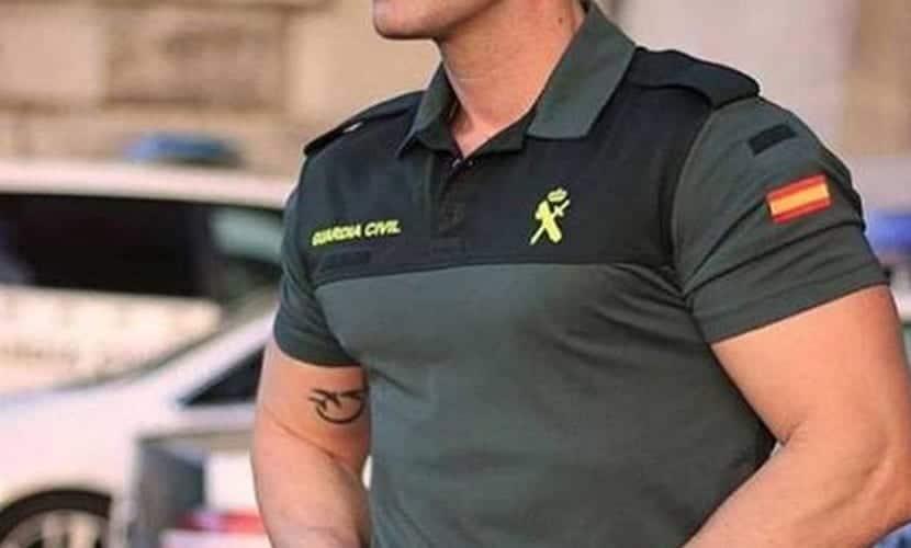 Tatuajes en la Guardia Civil