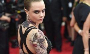 El nuevo tatuaje de Cara Delevingne
