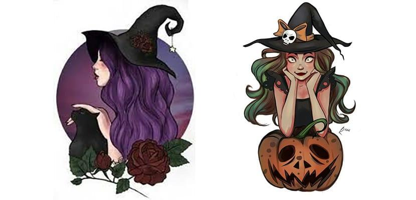 Diseños de brujas