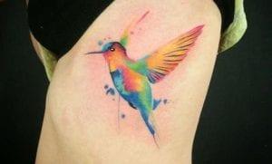 Tatuajes de colibríes