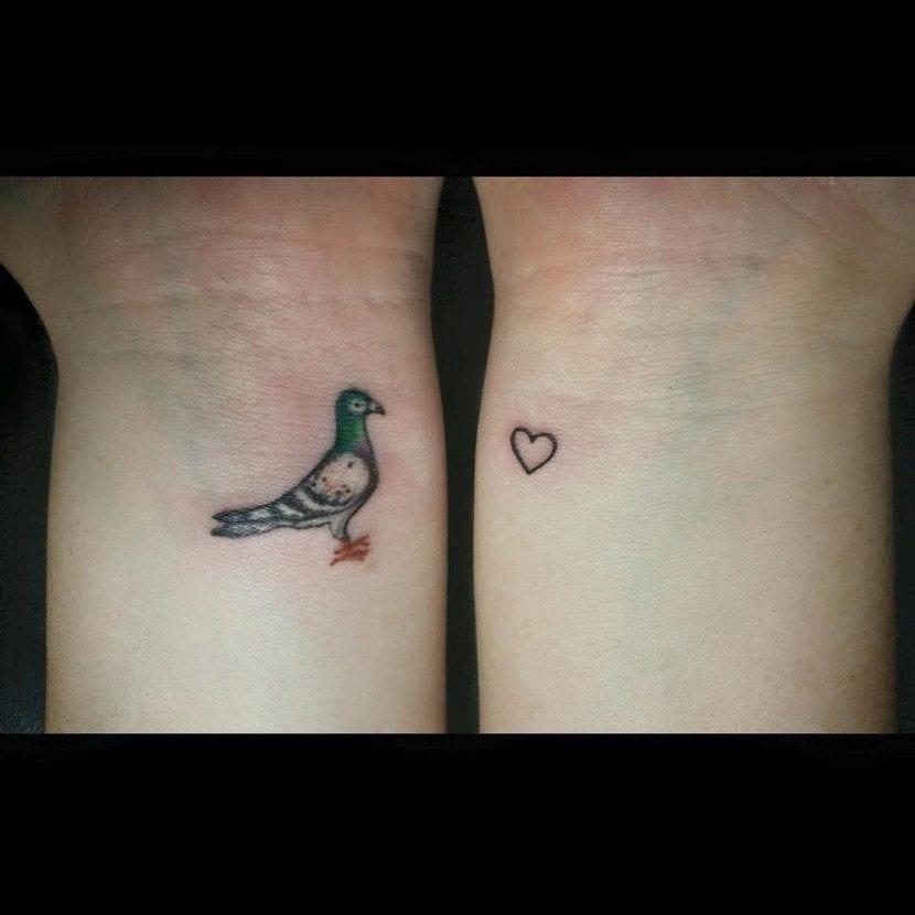 Tatuajes de paloma
