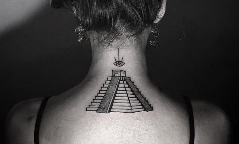 Tatuajes De Pirámides Recopilación Y Explicación De Su Significado