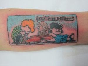 Tatuajes de Snoopy