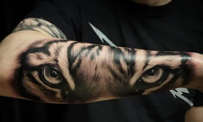 Tatuajes De Tigres Para Hombres Ideas Y Recopilación De Diseños