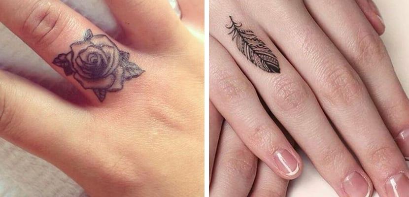 Mini Tatuajes Ideales Para Los Dedos De Las Manos