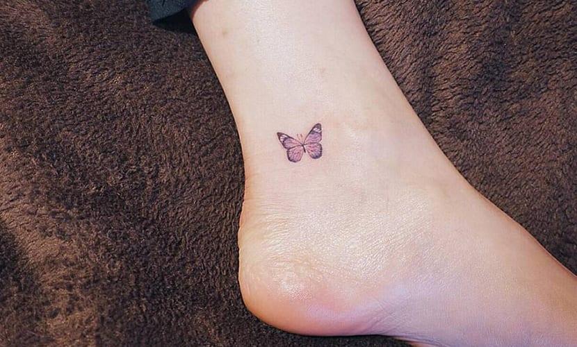 Tatuajes Pequeños En El Tobillo Discretos Y Elegantes