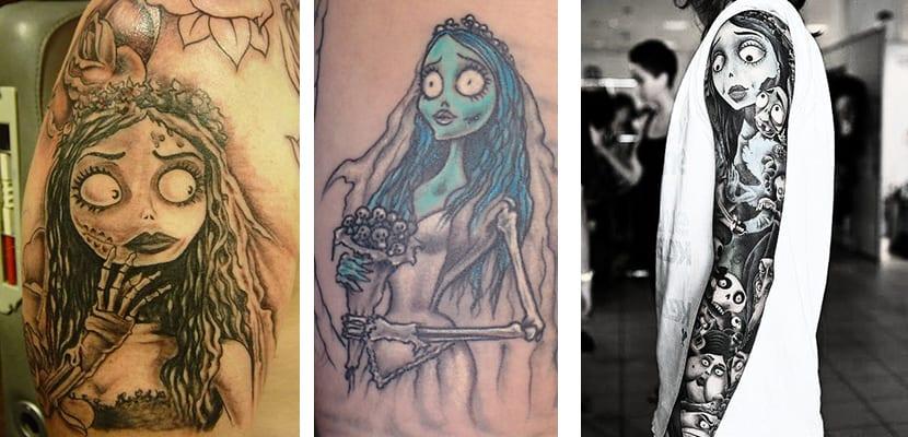 Tatuaje Novia Cadáver