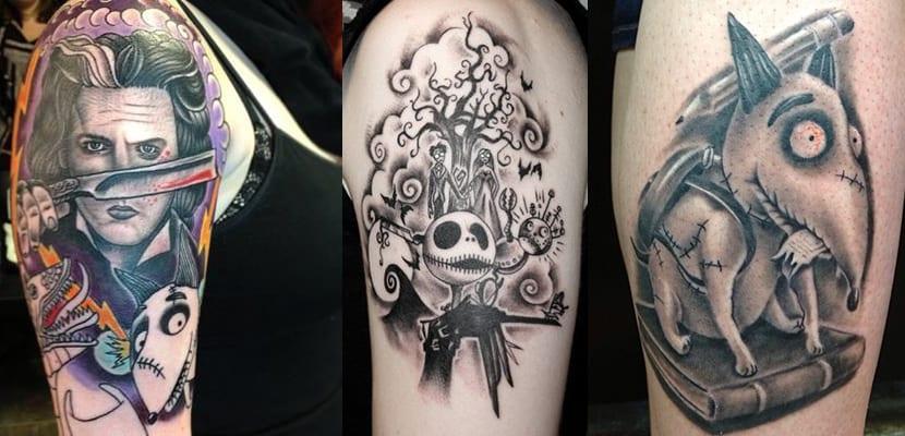 Tatuajes de Tim Burton