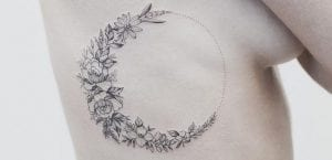 Tatuaje de luna