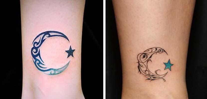 Tatuaje de media luna
