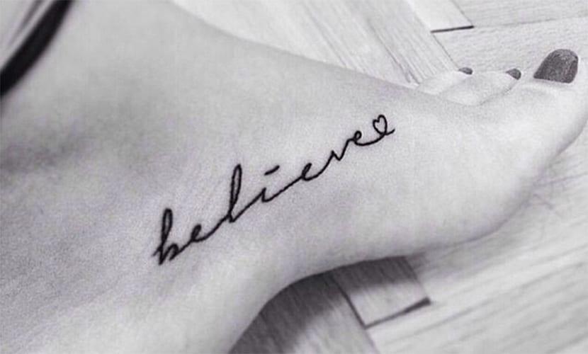 Tatuajes de Believe