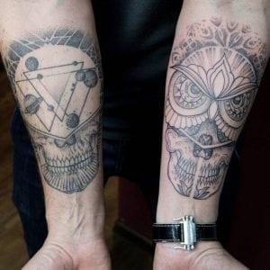 Tatuajes de calaveras originales