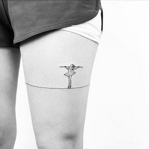 Tatuajes de funambulistas