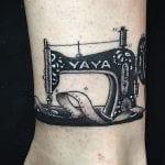 Tatuajes de máquinas de coser