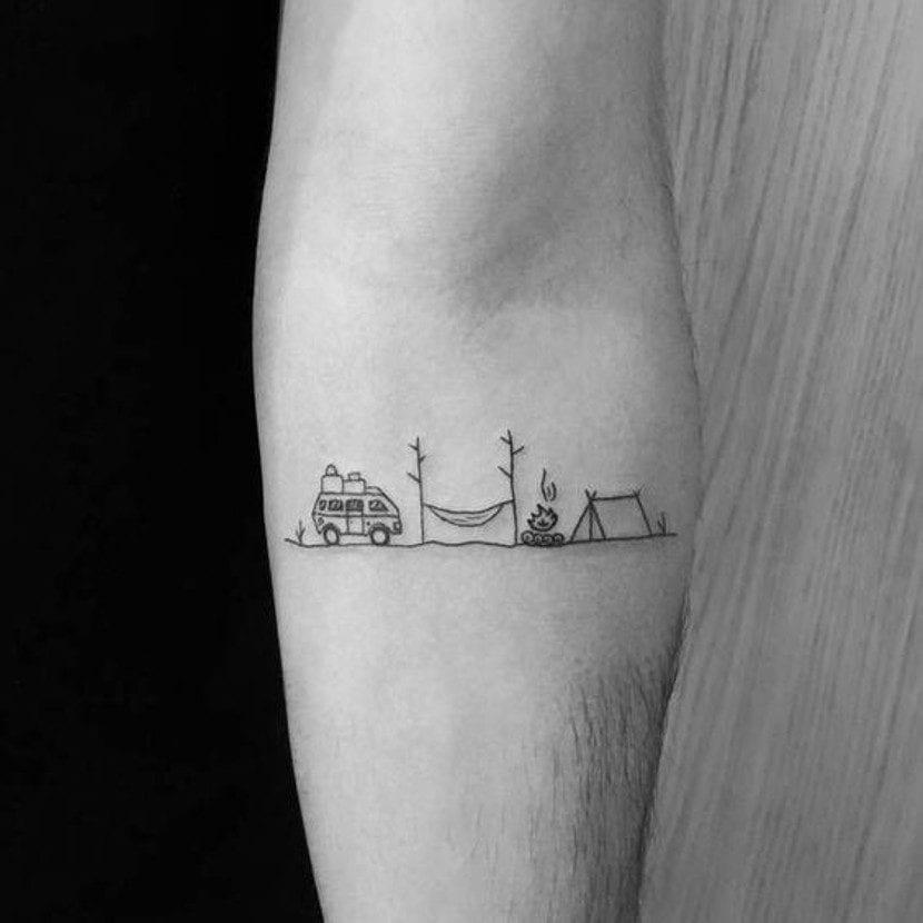 Tatuajes de vacaciones