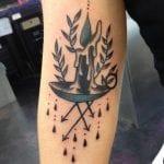 Tatuajes de velas