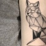 Tatuajes de zorros en el brazo
