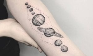 Tatuajes del sistema solar