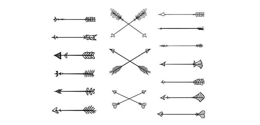 Diseños de flechas