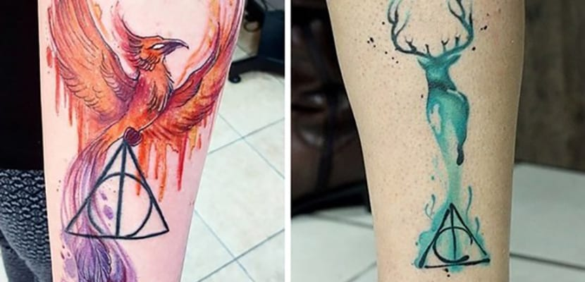 Tatuajes en color de Harry Potter