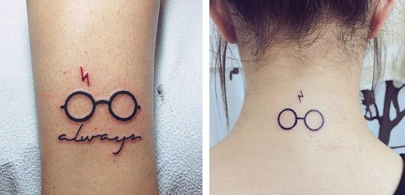Tatuajes de gafas