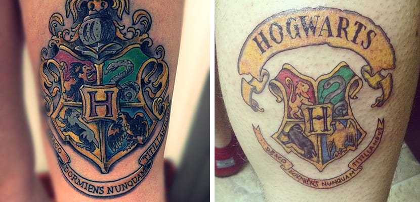 Tatuajes de Hogwarts
