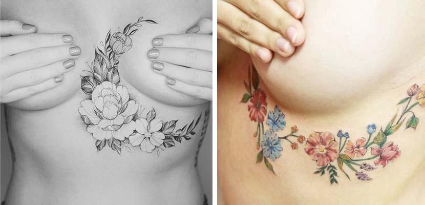 Tatuajes underboobs