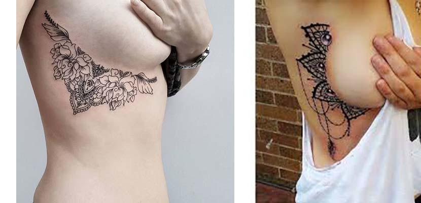 Tatuajes laterales