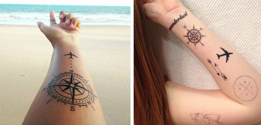 Ideas De Tatuajes Originales Para Viajeros