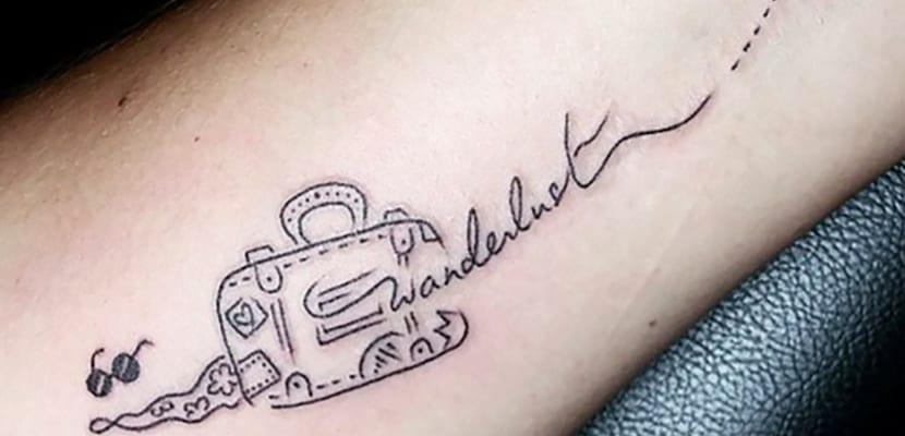 Tatuaje de wanderlust