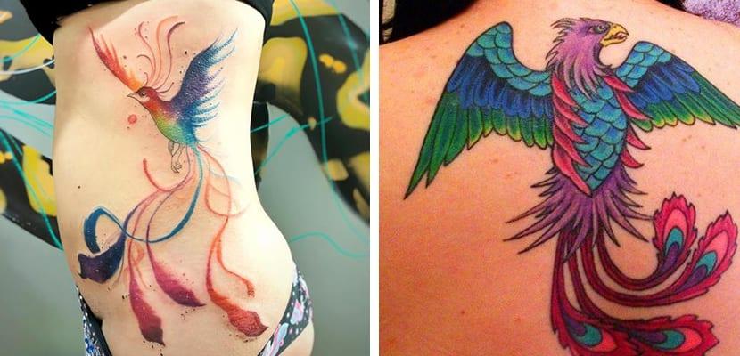 Tatuaje colorido