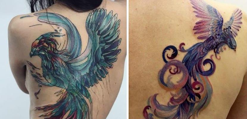 Tatuajes Inspirados En El Ave Fénix