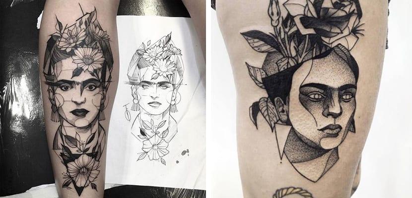 Tatuajes Frida Khalo