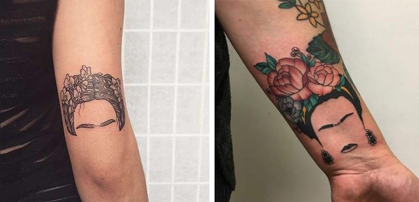 Tatuajes de Frida Khalo