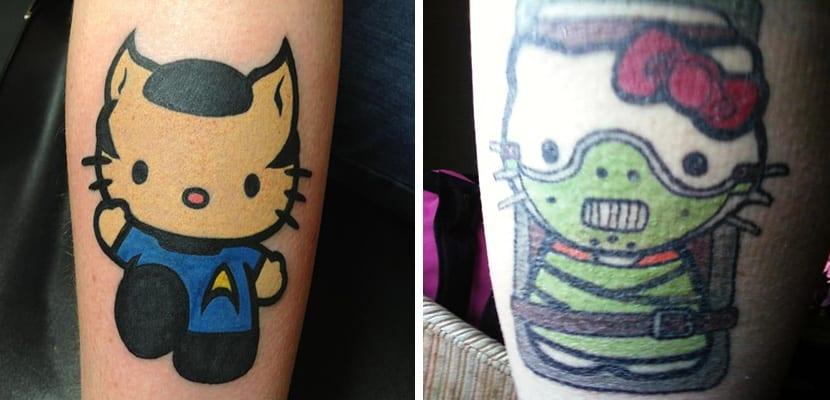 Tatuaje de personajes