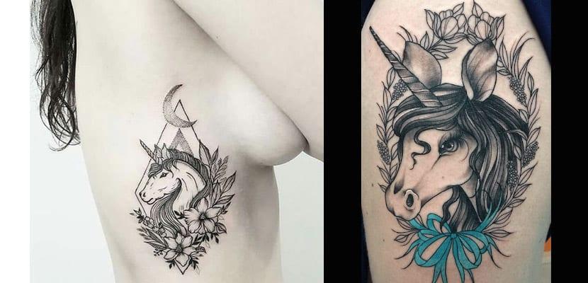 Tatuaje con flores