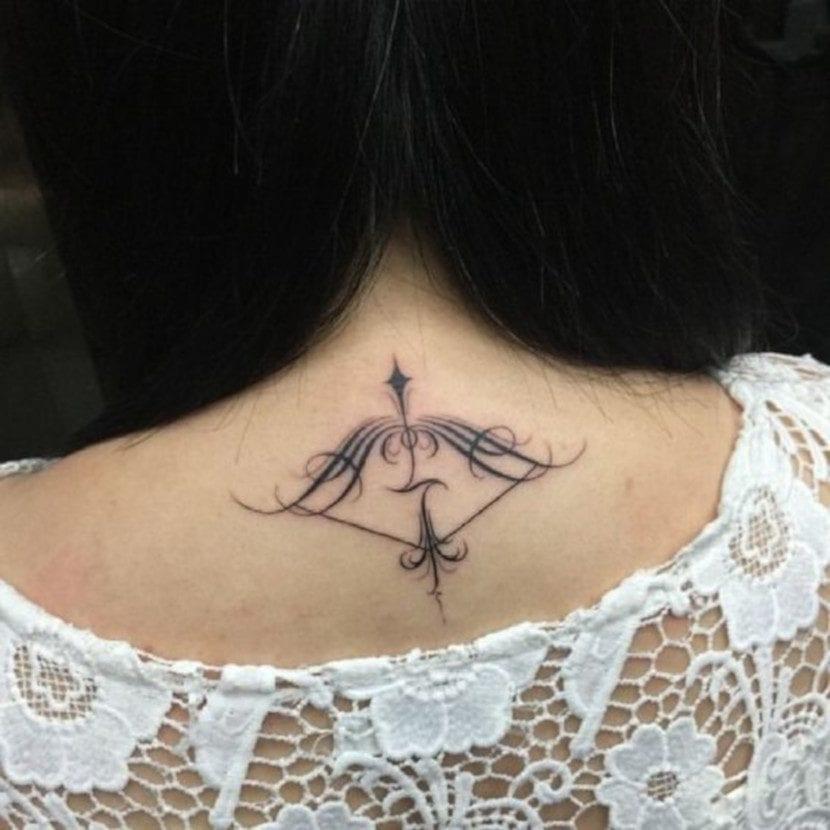 Tatuajes con arcos y flechas