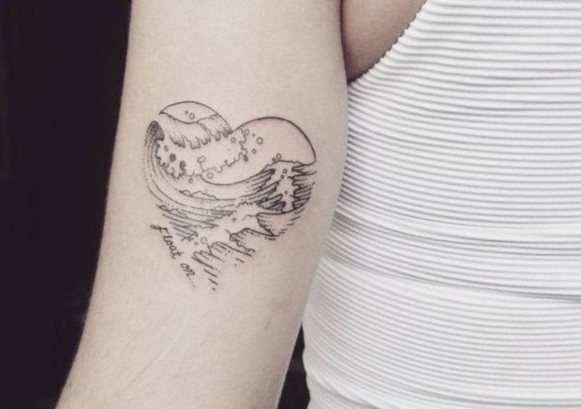 Tatuajes con forma de corazón