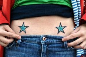 Tatuajes de Estrellitas