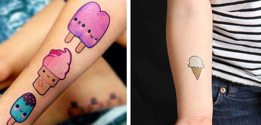 Tatuajes de helados