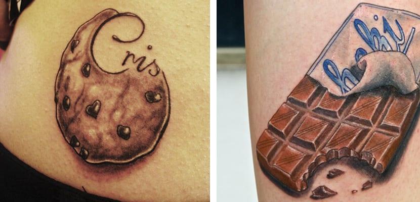 Tatuajes de dulces