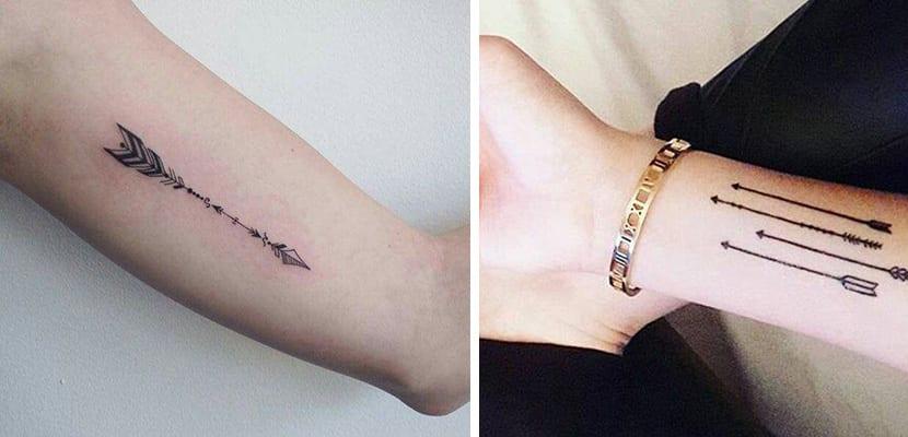 Tatuajes d flechas